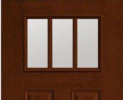 Fiber Classic Mahogany Doors